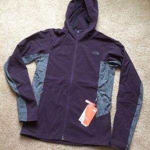 North Face Galaxy Purple Jacket ~ Small